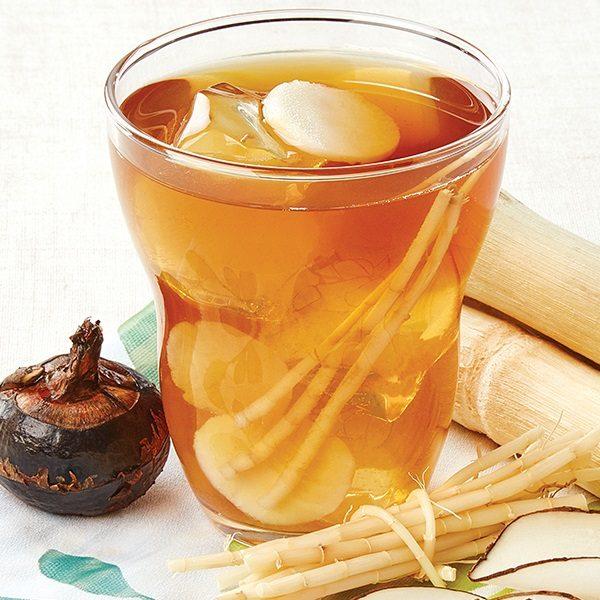 竹蔗茅根馬蹄海底椰飲品